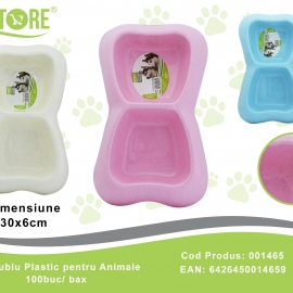 Bol Dublu pentru Animale PET0113