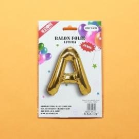 Balon Auriu Litera A PRT0087