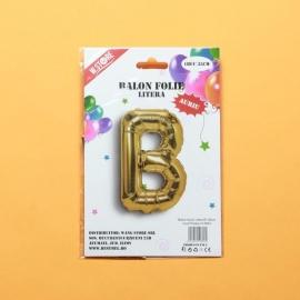 Balon Auriu Litera B PRT0088
