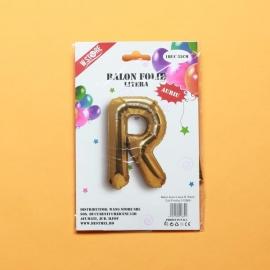 Balon Auriu Litera R PRT0104
