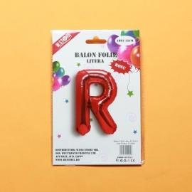 Balon Rosu Litera R PRT0069