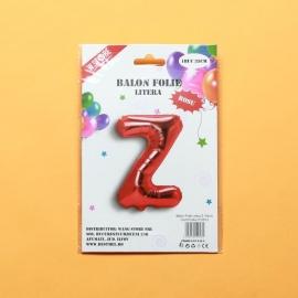 Balon Rosu Litera Z PRT0077