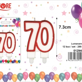 Lumanare Tort 70 PRT0174