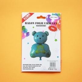 Balon Folie Ursulet Albastru 70cm 022708