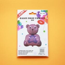 Balon Folie Ursulet Roz 70cm 022734