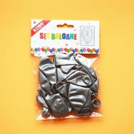 Set Baloane Argintii 12Buc 024710