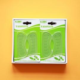 Pernute Silicon Transparente pentru Pantofi 2buc 025512