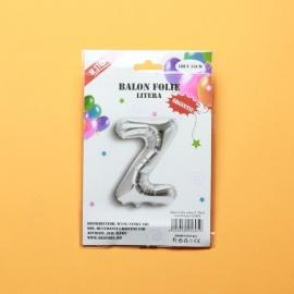Balon Argintiu Litera Z PRT0241