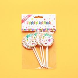 Set Decoratiuni Briose Flamingo 12Buc 028709