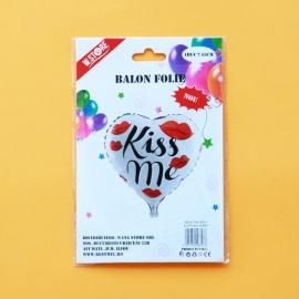 Balon Folie 45cm Kiss me 028803