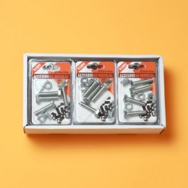 Set Suruburi Cap Hexagonal 8x35 mm + Piulita 8 mm BRI0093