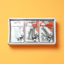 Set Suruburi Cap Hexagonal 8x50 mm + Piulita 8 mm BRI0123