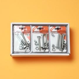 Set Suruburi Cap Hexagonal 8x55 mm + Piulita 8 mm BRI0098