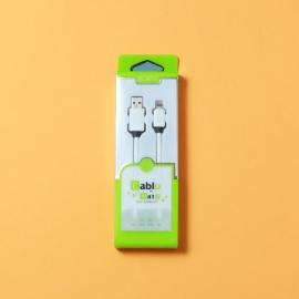 Cablu de date Lightning 2.1A 1.5 m. ECT0001