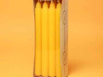Set 8 Lumanari de Masa Yellow LUM0020