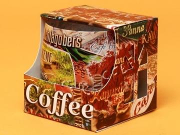 Lumanare Pahar Coffee LUM0010