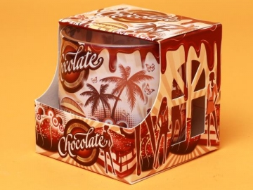 Lumanare Pahar Chocolate LUM0014
