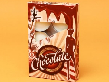 Set 6 Lumanari Parfumate Chocolate LUM0044