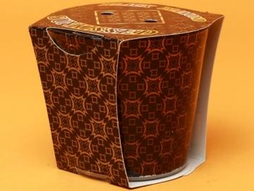Lumanare Pahar Black Diamond LUM0002