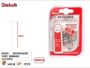 Set Ace de Gamalie Alb Perlat 100buc 629330