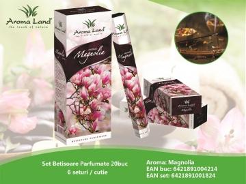 Set Betisoare Parfumate Magnolia 20buc