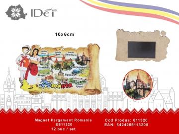 Magnet Pergament Romania ES11320 811320