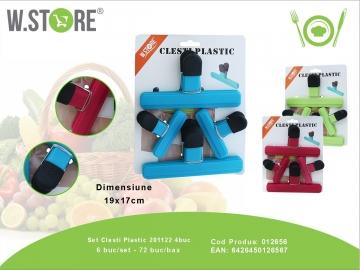 Set Clesti Plastic 201122 4buc 012656