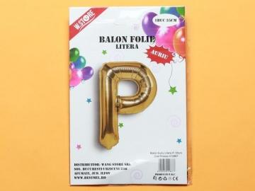 Balon Auriu Litera P PRT0102