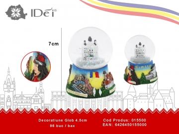 Decoratiune Glob 4.5cm 015500