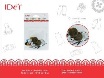 Set Nasturi Metalici 5buc 016077