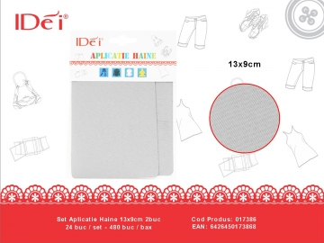 Set Aplicatie Haine 13x9cm 2buc 017386