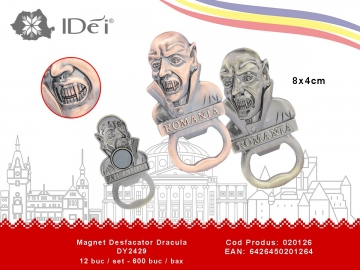 Magnet Desfacator Dracula DY2429 020126