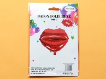 Balon Folie Buze Rosii PRT0130