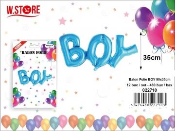 Balon Folie Boy 90x35 022710
