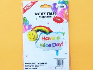 Balon Folie Curcubeu 70x65cm 022735