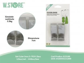 Set 2 Cuiere Inox CAS0235