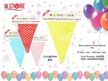 Decoratiune Party 4m Buline 024745