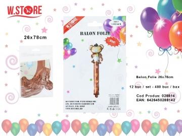Balon Folie 26x78cm 028814