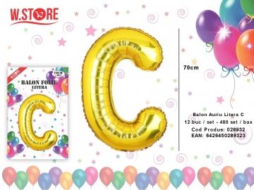 Balon Auriu Litera C 028932