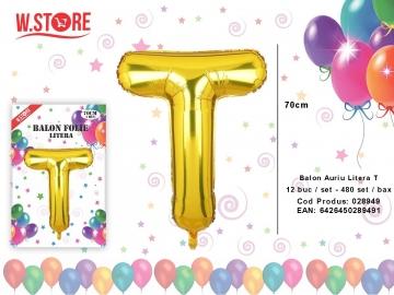 Balon Auriu Litera T 028949