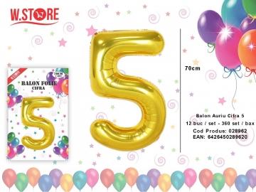 Balon Auriu Cifra 5 028962