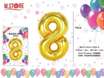 Balon Auriu Cifra 8 028965