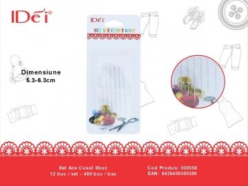 Set Ace Cusut 6buc 030558