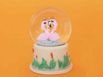 Decoratiune Glob Flamingo 030988