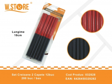 Set Creioane 2 Capete 12buc 032828