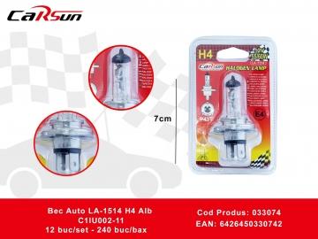 Bec Auto LA-1514 H4 Alb C1lU002-11 033074