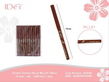 Creion Contur Buze MLL01 12buc 033429