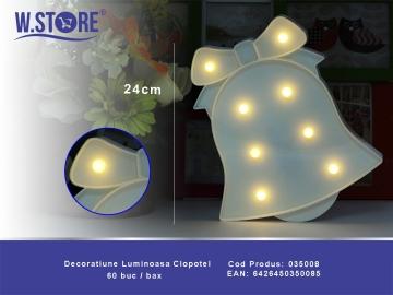 Decoratiune Luminoasa Clopotel 035008