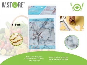 Set Forme Prajituri C83RRW-8GT-6123 8buc 036183