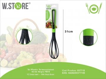 Tel Plastic Termorezistent Verde Negru FB10 037715
